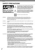 SD3980 Owner's Manual - English - Toshiba Canada - Page 2