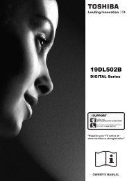 19DL502B - UK - Toshiba