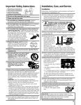 37HL95 Owner's Manual - Toshiba Canada - Page 3