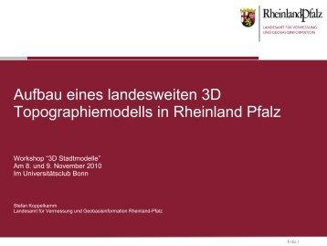 novaFACTORY 3D PRO - 3D-Stadtmodelle