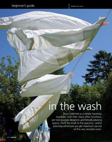 Resene Habitat Magazine Issue 6: Planning A Laundry