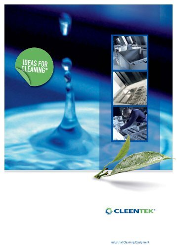 Industrial Cleaning Equipment - Cleentek