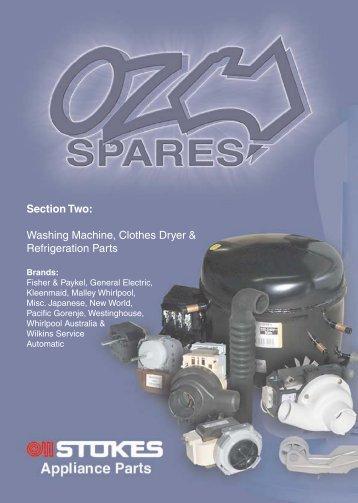 Oz Spares Catalogue - Section 2 - Stokes Appliance Parts