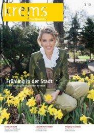 Frühling in der Stadt - Krems an der Donau