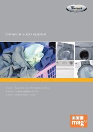 World leaders in laundry products - Laundry Equipment ...