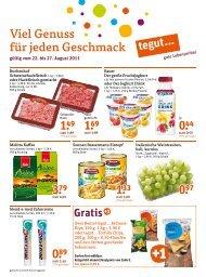 Gratis - Einkaufen in Kassel
