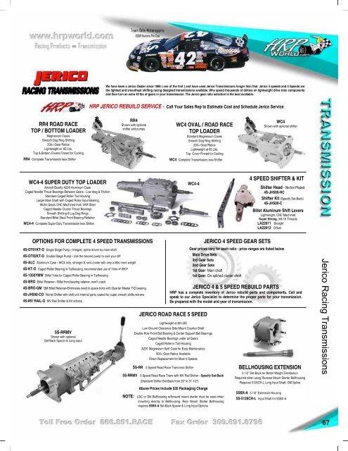 options for complete 4 speed transmissions - HRPWorld com