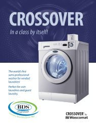 Spec Sheet Download - BDS Laundry Systems