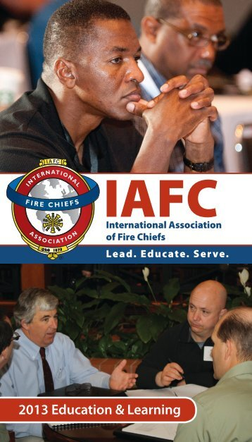 2013 Education and Conferences Brochure - International ...
