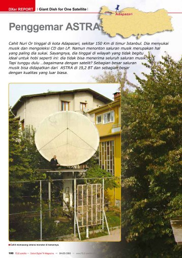 Penggemar ASTRA - TELE-satellite International Magazine
