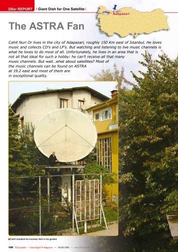The ASTRA Fan - TELE-satellite International Magazine