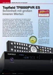 Topfield TF6000PVR ES - TELE-satellite International Magazine