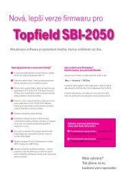 Topfield SBI-2050 - T-Mobile