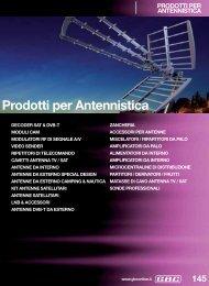 Prodotti per Antennistica