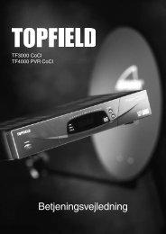 Topfield manual - dk.indd - CableSat