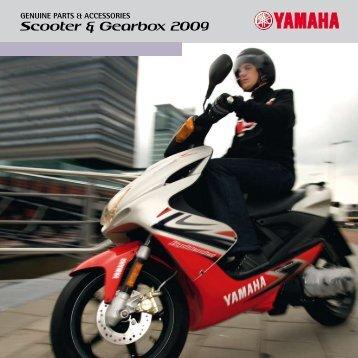 Scooter & Gearbox 2009 - Yamaha Motor Europe