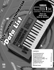 Yamaha CS1x data list PDF - Spoogeworld