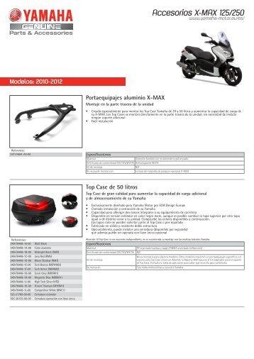 Accesorios X-MAX 125/250 - Yamaha Motor Europe