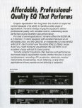 Page 1 Page 2 Affordable, Professional- Quality E0 That Performs ... - Page 2