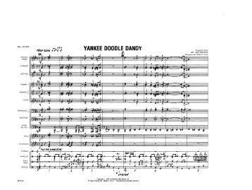 YANKEE DOODLE DANDY-SCORE-WA-MCE102-010000