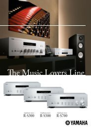R-S300 R-S500 R-S700 - Audio Klan
