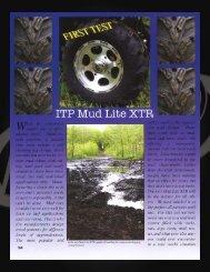 XTR, C-14, MUD.indd - ITP Tires
