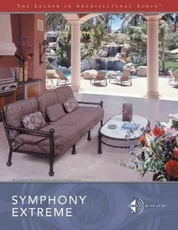 """Sonance Extreme XTR"" brochure (PDF)"