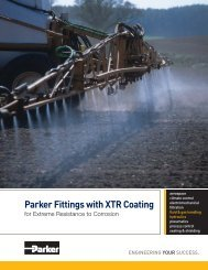 Parker Fittings with XTR Coating - Parker Hannifin Corporation