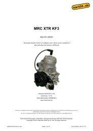 MRC XTR KF3 - Mach1 Kart