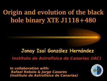 Origin and evolution of the black hole binary XTE J1118+480