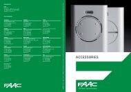accessories - Faac