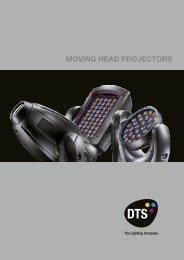MOVING HEAD PROJECTORS - Dts