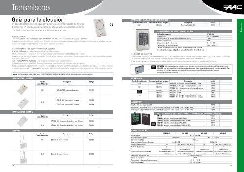 Faac Receptor bicanal Xr2 868 C