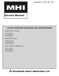 hyper inverter packaged air-conditioners