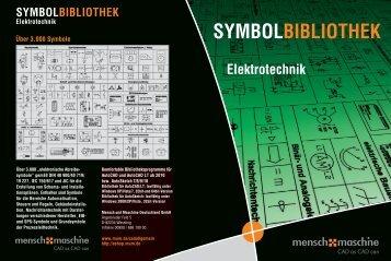 SYMBOLBIBLIOTHEK Elektrotechnik - Mensch und Maschine