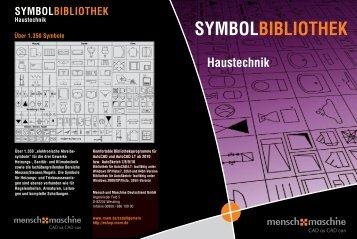 SYMBOLBIBLIOTHEK Haustechnik - Mensch und Maschine