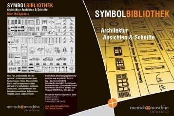 SYMBOLBIBLIOTHEK - Mensch und Maschine