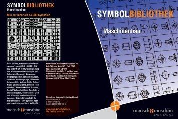 SYMBOLBIBLIOTHEK Maschinenbau - Mensch und Maschine