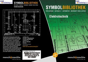 Elektrotechnik SYMBOLBIBLIOTHEK - ACAD-Systemhaus Bremen