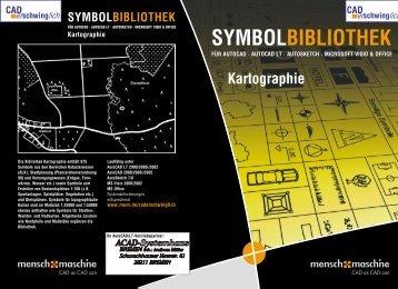 Kartographie SYMBOLBIBLIOTHEK - ACAD-Systemhaus Bremen