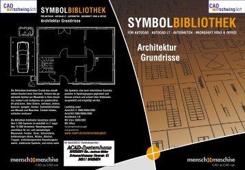 Architektur Grundrisse SYMBOLBIBLIOTHEK - ACAD-Systemhaus ...