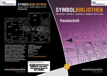 Haustechnik SYMBOLBIBLIOTHEK - ACAD-Systemhaus Bremen