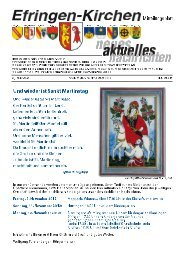 Angebote - Gemeinde Efringen-Kirchen