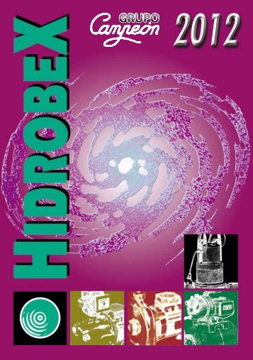Catalogue of products 2012, Hidrobex - Interempresas