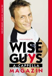 Hiermit bestelle ich ver- bindlich folgende Artikel - Wise Guys