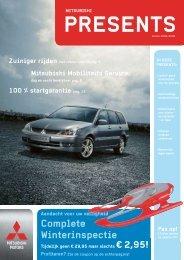 Complete Winterinspectie - Mitsubishi Motors Netherlands