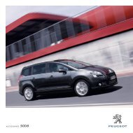 ACCESSOIRES 5008 - Peugeot Nederland