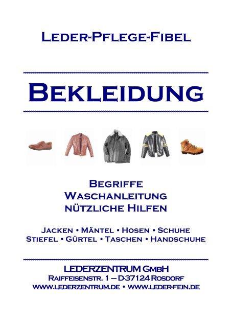 Unangenehme Ledergerüche | Lederzentrum Spezialist für