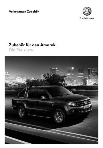 VW Amarok Preisliste Österreich Stand Jänner 2011 - Volkswagen ...