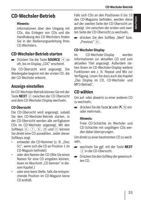 Seattle MP57 Car Radio CD MP3 WMA - Blaupunkt